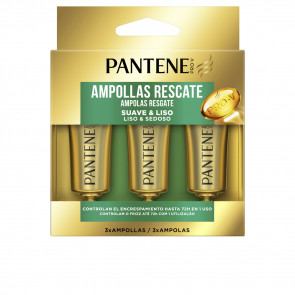 Pantene Pro-V Suave & Liso Ampollas 3 ud