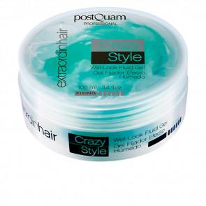 Postquam EXTRAORDINHAIR Crazy Style Wet Look Fluid Gel 100 ml