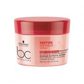 Schwarzkopf BC Peptide Repair Rescue Deep Nourishing Treatment 200 ml