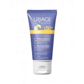 Uriage Bebé 1er Crema mineral SPF50+ 50 ml