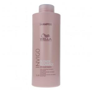 Wella Invigo Blonde Recharge Color Refreshing Shampoo 1000 ml