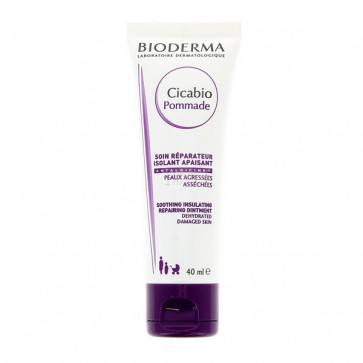 Bioderma CICABIO POMMADE Soothing insulating repairing ointment 40 ml