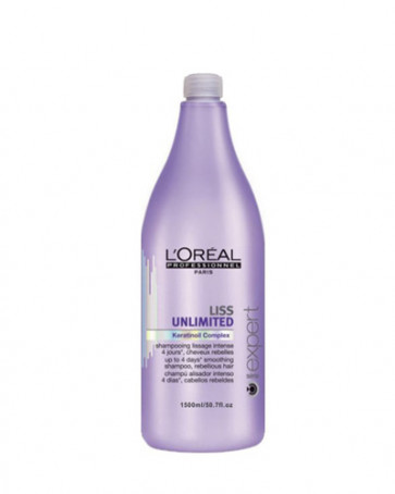 L'Oreal Professionnel LISS UNLIMITED Champú alisador 1500 ml