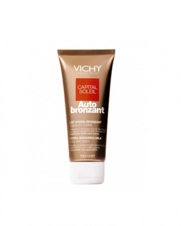Vichy CAPITAL SOLEIL Leche autobronceadora 100 ml