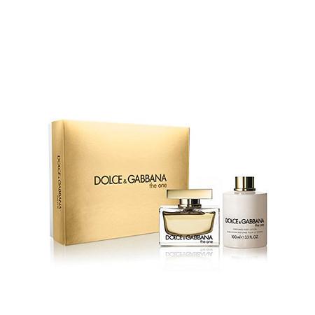 5fbc20bf418c Buy Dolce   Gabbana Set THE ONE Eau de parfum Spray 50 ml + Body ...