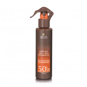 Arual Spray Protector Solar Aceite Seco SPF50+ 200 ml