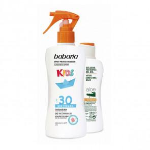 Babaria Lote KIDS SPF30 Set de cuidado corporal