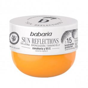 Babaria Sun Reflections Gelatina Bronceadora Zanahoria y Vitamina E SPF15 300 ml