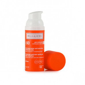 Bella Aurora SOLAR Sunscreen Anti-Dark Spots Gel High Protection SPF50 Combination-oily Skin 50 ml