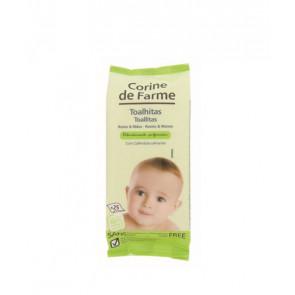 Corine de Farme Toallitas Rostro & Manos 25 ud