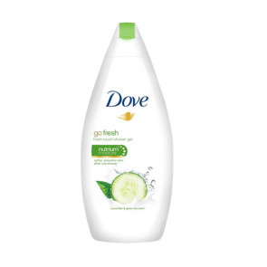 Dove GO FRESH PEPINO & TÉ VERDE Gel de ducha 500 ml