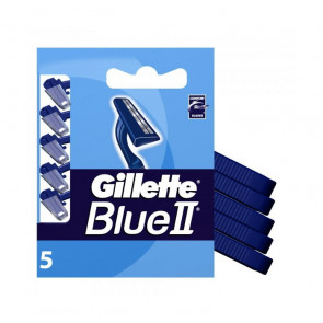 Gillette BLUE II Cuchilla de Afeitar Desechable 5 u