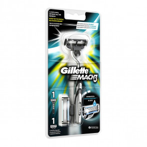Gillette Lote MATCH 3 Set de afeitado