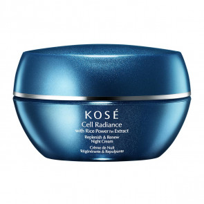 Kosé CELL RADIANCE Extract Replenish & Renew Night Cream 40 ml