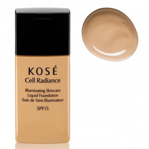Kosé CELL RADIANCE Illuminating Liquid Foundation 201 Natural Beige 30 ml