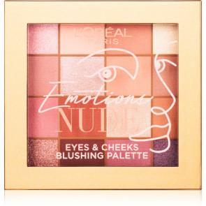 L'Oréal Emotions Nude Eyes & Cheeks Blushing Palette