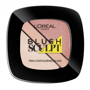 L'Oréal Ifalible Blush Sculpt Trio - 101 Soft sand
