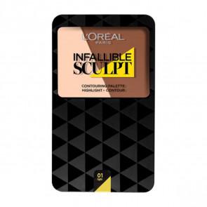 L'Oréal Infalible Sculpt Palet - 03 Medium dark