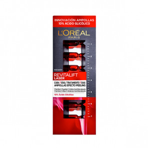 L'Oréal Revitalift Laser ampollas efecto peeling con ácido glicólico 7 ud