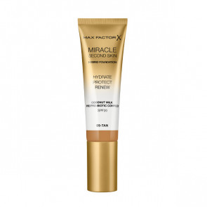Max Factor Miracle Touch Second skin found - 9 Tan 30 ml