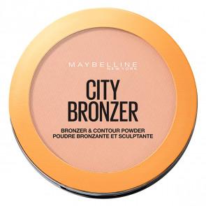 Maybelline CITY BRONZER Bonzer & Contour Powder 250 Medium Warm