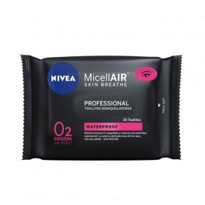 Nivea Micell-Air Profesional Toallitas desmaquilladoras 20 ud