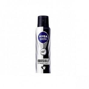 Nivea NIVEA MEN INVISIBLE FOR BLACK AND WHITE Spray Deodorant 200 ml