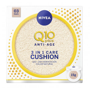 Nivea Q10+ Anti-Age 3 In 1 Care Cushion - 03 Dark 15 g