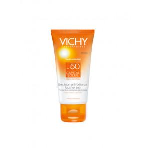 Vichy CAPITAL SOLEIL Emulsion SPF 50 Protector solar rostro 50 ml