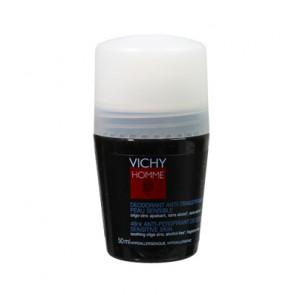 Vichy HOMME Desodorante Roll-on Pieles sensibles 50 ml