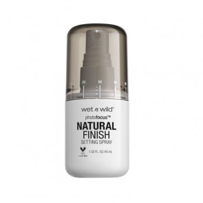 Wet N Wild PhotoFocus Natural Finish Setting Spray 45 ml