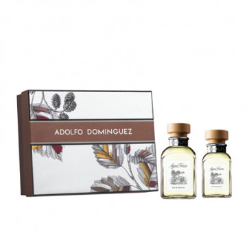 Adolfo Domínguez Lote AGUA FRESCA Eau de toilette Vaporizador 120 ml + Gel de baño 75 ml + Aftershave Bálsamo 75 ml
