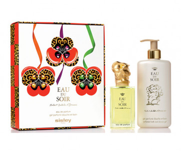 Sisley Lote EAU DU SOIR Eau de parfum Vaporizador 100 ml + Gel baño 250 ml