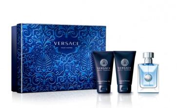 Versace Lote VERSACE POUR HOMME Eau de toilette Vaporizador 50 ml + Gel 50 ml + after shave 50 ml