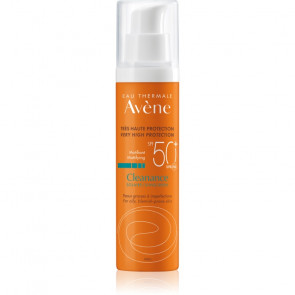 Avène Cleanance Sunscreen Matifying SPF50+ 50 ml