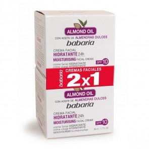 Babaria ALMOND OIL Creme Facial Hidratante