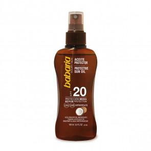 Babaria Aceite Protector Coco SPF20 100 ml