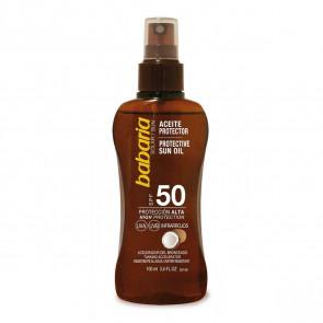 Babaria Aceite Protector Coco SPF50 100 ml