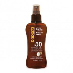 Babaria Aceite Protector Coco SPF50 200 ml
