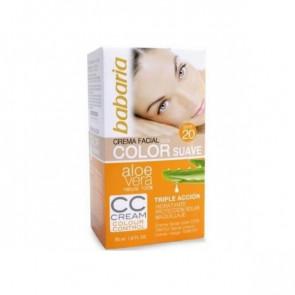Babaria ALOE Creme Facial Com Cor SPF 20 50 ml