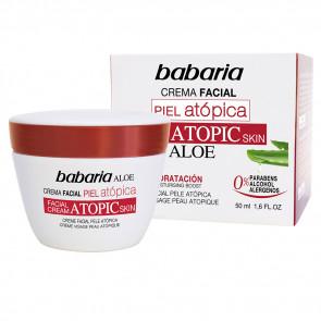 Babaria ALOE Creme Facial Pele Atópica 50 ml