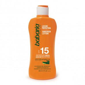 Babaria Leche protectora SPF15 Aloe Vera 200 ml