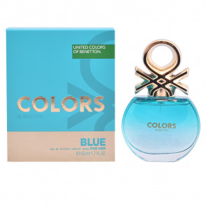 Benetton COLORS BLUE FOR HER Eau de toilette 50 ml