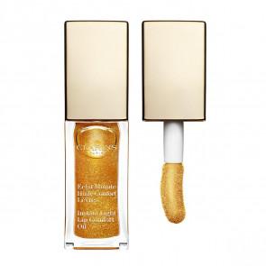 Clarins ECLAT MINUTE Huile Confort Lèvres 07 Honey Glam 7 ml