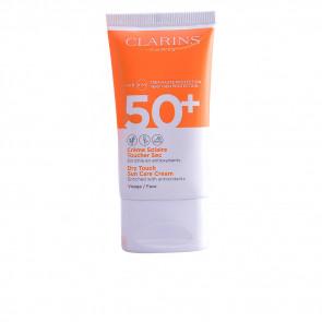 Clarins SOLAIRE Crème Toucher Sec SPF50+ Facial 50 ml