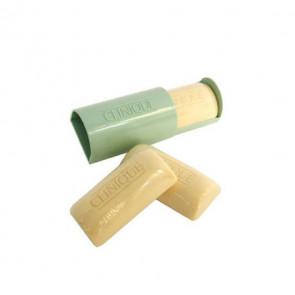 Clinique 3 LITTLE MILD SOAPS WITH TRAVEL DISH Jabones piel seca con jabonera de viaje 50 gr