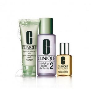 Clinique Kit de Iniciación al sistema de 3 Pasos Skin Type 2 piel mixta