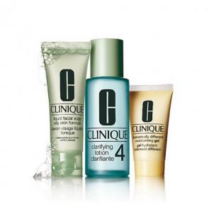 Clinique Kit de Iniciación al sistema de 3 Pasos Skin Type 4 piel muy grasa
