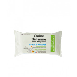 Corine de Farme Toallitas Fresh & Natural 56 ud