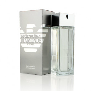 Emporio Armani DIAMONDS FOR MEN Eau de toilette Vaporizador 75 ml